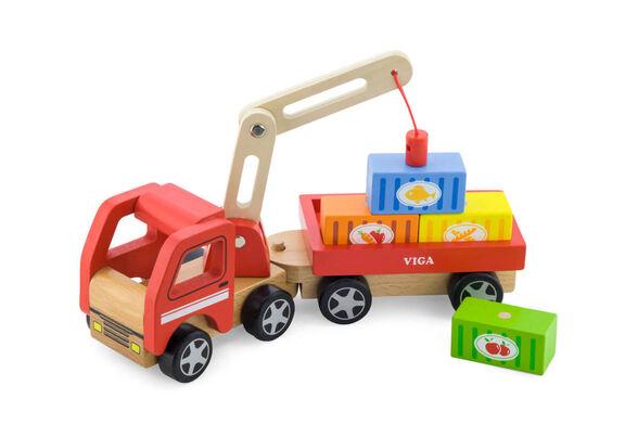 משאית מנוף מעץ, , large image number null