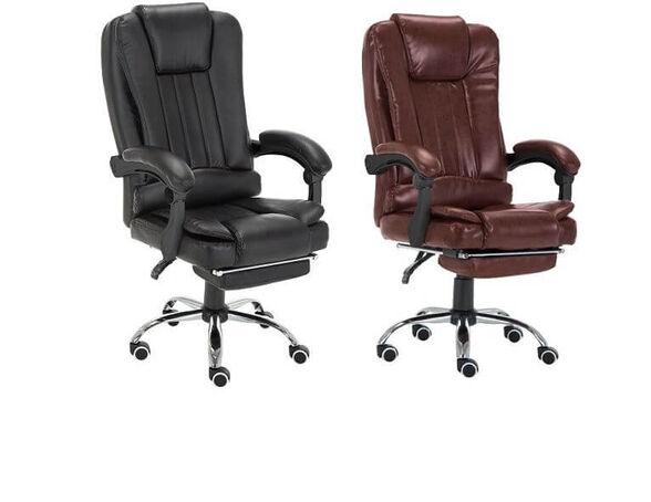 כסא מנהלים משרדי ארגונומי דמוי עור כולל הדום דגם BOSS, , large image number null