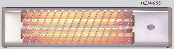 תנור אמבטיה 3 אינפרות המילטון דגם HEM-955 הספק 1500W עמיד במים , , large image number null