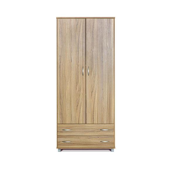 ארון 2 דלתות 2 מגירות בעיצוב מודרני בצבעים לבחירה דגם ינאי מבית רהיטי יראון תוצרת ישראל_אלון, , large image number null
