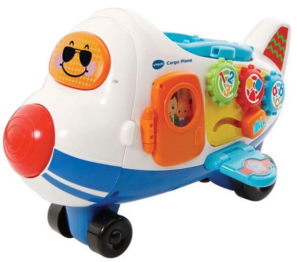 TOOT-TOOT מטוס תובלה עם רמפה ומיני מטוס משחק נוסף, , large image number null