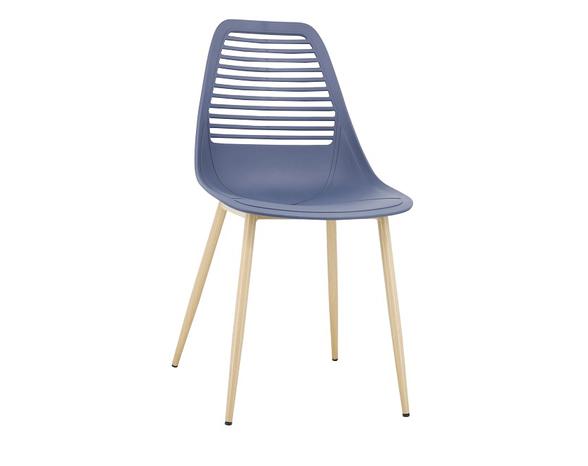 כסא אוכל בעיצוב מודרני וייחודי דגם 7039 מבית TAKE IT_כחול, , large image number null