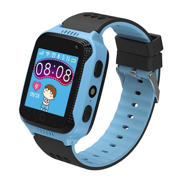 שעון חכם לילדים הכולל איתור בעזרת GPS, מסך מגע צבעוני, מצלמה, פנס ושיחות קוליות למספרים מוגדרים מראש דגם KidiWatch Lite _תכלת, , large image number null
