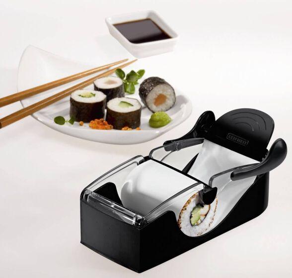 PERFECT ROLL - מכשיר ביתי להכנת סושי, רולים, עלי גפן ממולאים ועוד | פשוט לא תפסיקו לגלגל, , large image number null