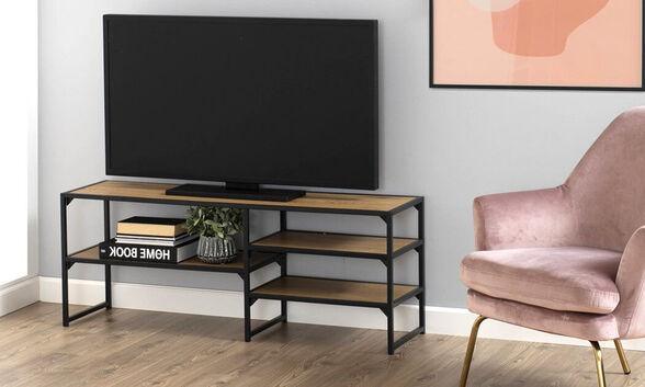 מעמד רב שימושי דגם 'סטורן', משמש כיחידת טלוויזיה, כוננית ספרים או חפצי נוי - משלוח חינם, , large image number null