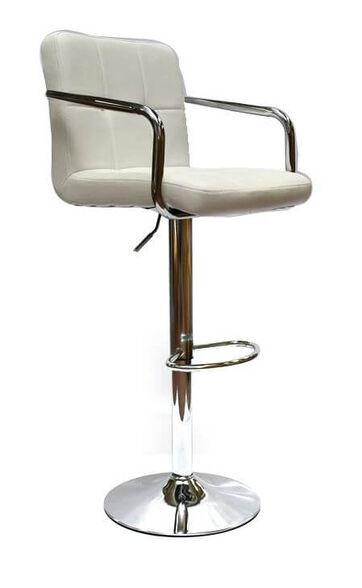 זוג כיסאות בר דגם MSH-3-5P בלי ריפוד בידיות מבית ROSSO ITALY_לבן, , large image number null