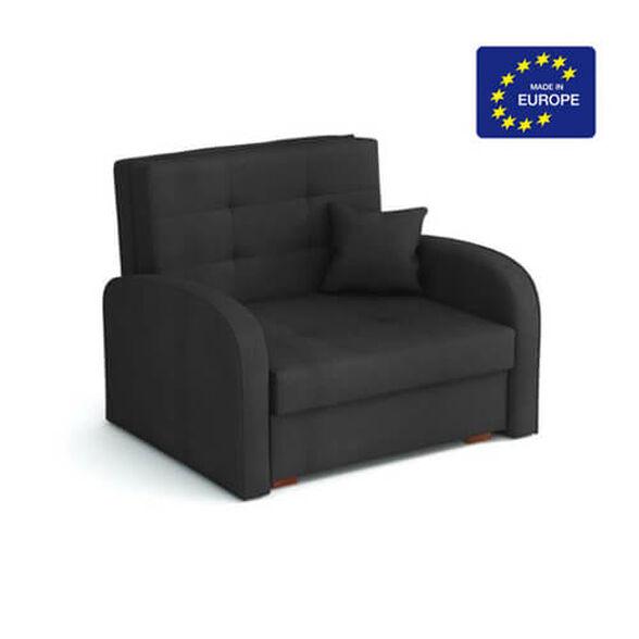 כורסא אירופאית נפתחת למיטה עם ארגז מצעים מבית HOME DECOR דגם מונו _אפור, , large image number null