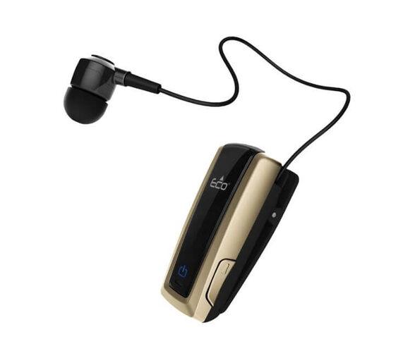 A2DP אוזניית קליפס חוזר ECO Stream+רטט_שחור זהב, , large image number null