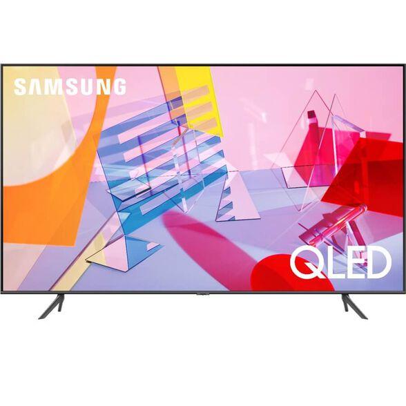 """טלויזיה 50"""" Smart 4K QLED מהסדרה החדשה -  מעבד תמונה Quantum Processor 4K ,עידן פלוס ו - WIFI מובנה מבית Samsung דגם QE50Q60T   כולל התקנה ומתקן קיר חינם, , large image number null"""