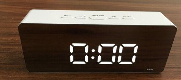 ניולד ... שעון מעורר נייד תאורת LED, , large image number null