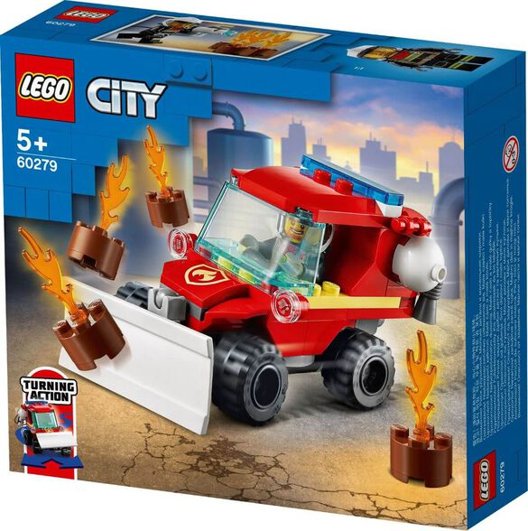 LEGO לגו סיטי - כבאית מפלסת 60279, , large image number null