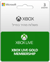 מנוי לשירות XBOX Live GOLD – 3 Month