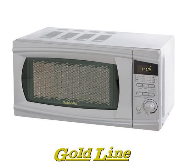 מיקרוגל דיגיטלי 20 ליטר GOLD LINE דגם WP800AL20 בעל לוח פיקוד דיגיטלי ורשת בידוד כפולה , , large image number null