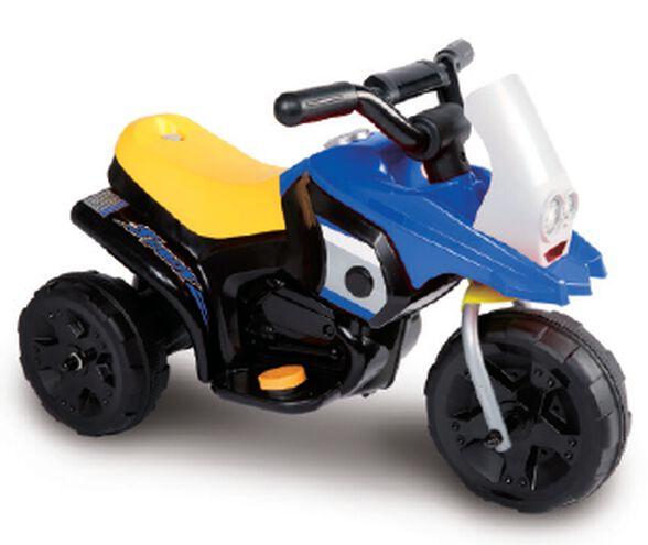 אופנוע ממונע Juke ג'וק 6V לילדים - כחול/שחור, , large image number null