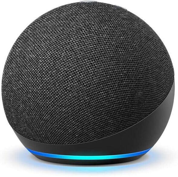 הרמקול החכם והחדש של אמזון - (2020) Echo Dot 4  Generation Amazon _שחור, , large image number null