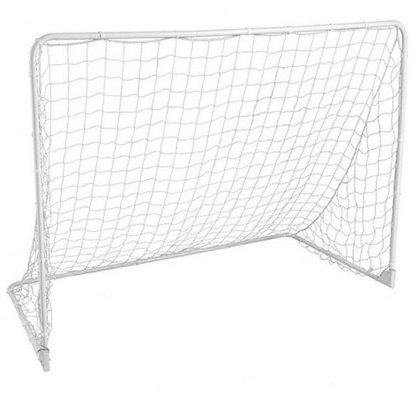 """שער כדורגל מקצועי לחצר ממתכת באורך 107 ס""""מ, כולל רשת דגם 98043, , large image number null"""