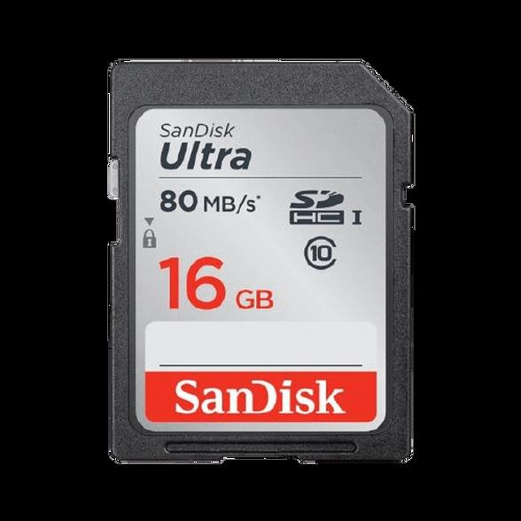כרטיס זיכרון SANDISK ULTRA® SDHC™/SDXC™ UHS-I MEMORY CARD 16GB , , large image number null