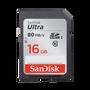 כרטיס זיכרון SANDISK ULTRA® SDHC™/SDXC™ UHS-I MEMORY CARD 16GB
